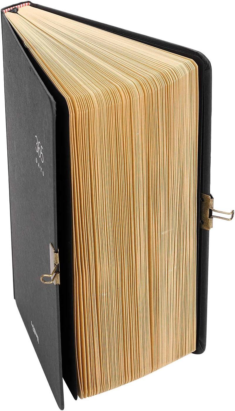lingua italiana non garantita pagine vuote ideale come diario di viaggio,quaderno per schizzi,blocco note per disegnare,diario segreto,365 giorni Diario formato A5 con copertina rigida e lucchetto