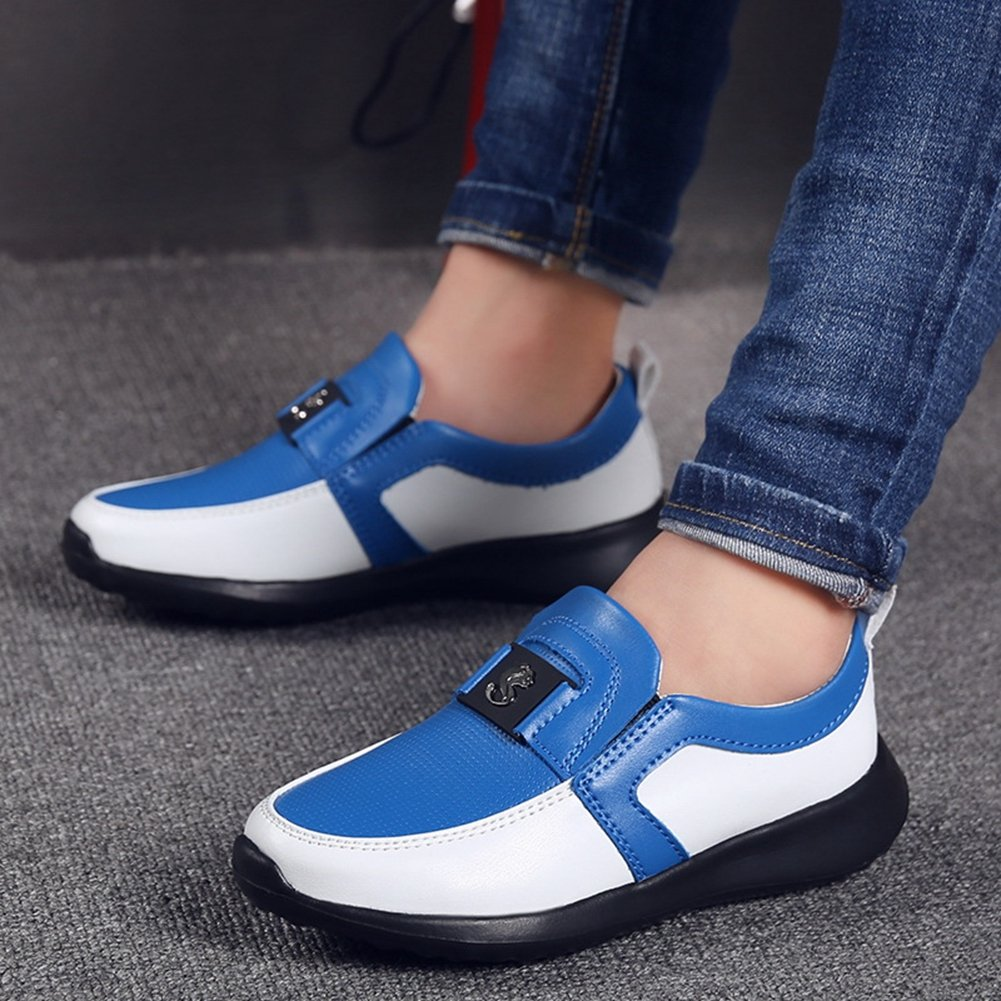 Little Kid//Big Kid T-JULY Boys Anti-Slip Loafer Shoes Summer Breathable Outdoor Casual Shoes