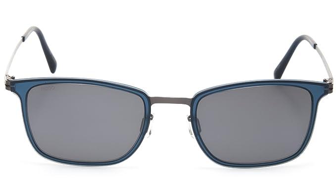 Amazon.com: Nuevo modo 653 Teal titanio anteojos de sol ...