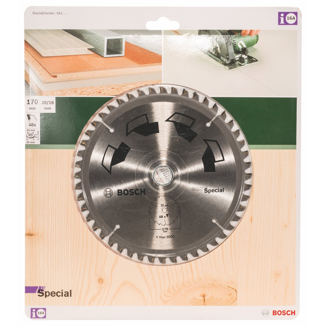 Bosch 2609256888 170 mm circular saw blade special amazon bosch 2609256888 170 mm circular saw blade special amazon diy tools greentooth Image collections