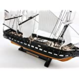 "USS Constitution Limited 18"" Tall Model Warship Decorative Ship NOT A KIT"