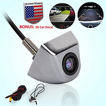 Amazon Com Backup Parking Camera Universal Car Rear Front Side View