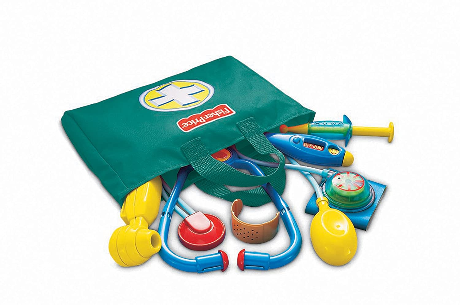 Toy Medical Kit : Fisher price medical kit equipment doctor nurse pretend