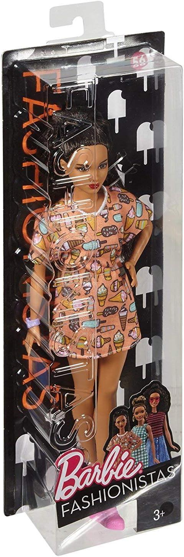 Amazon.es: Barbie - Fashionista, muñeca con Vestido Swag (DVX78 ...