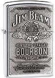 Original Jim Beam Zippo | mit Metallplatte | Klassiker