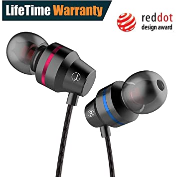 108be6290e4500 Earphones, Noise Cancelling Earbuds Balanced Bass Driven Sound Earphones  with Mic, 3.5mm Durable Cable Earphone: Amazon.ca: Musical Instruments, ...