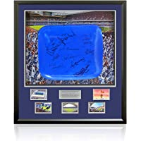 $655 » Official Seat From Tottenham Hotspur's White Hart Lane Stadium Hand Signed by 12 AFTAL COA