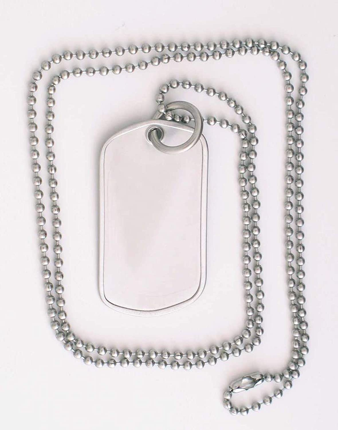 Serenity is Forever 15 Year Sobriety Anniversary Stainless Steel Dog Tag Necklace for Sober Birthday NA Narcotics Anonymous AA Alcoholics Anonymous