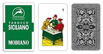 Modiano Tarocco Siciliano 94 - Cartas de Tarot Siciliano ...