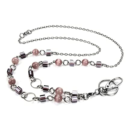 Amazon.com   LUXIANDA Elegant Women s Beaded Fashion Lanyard Necklacep c6fed96ed7