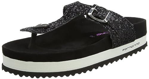 Fornarina Stella amazon-shoes neri Estate Pagar Con Visa De Precio Barato J6YbX8K8D
