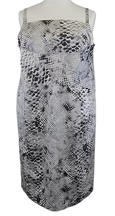 Marina Rinaldi by MaxMara Legnano Multi-Color Snake Skin Dress 16W / 25
