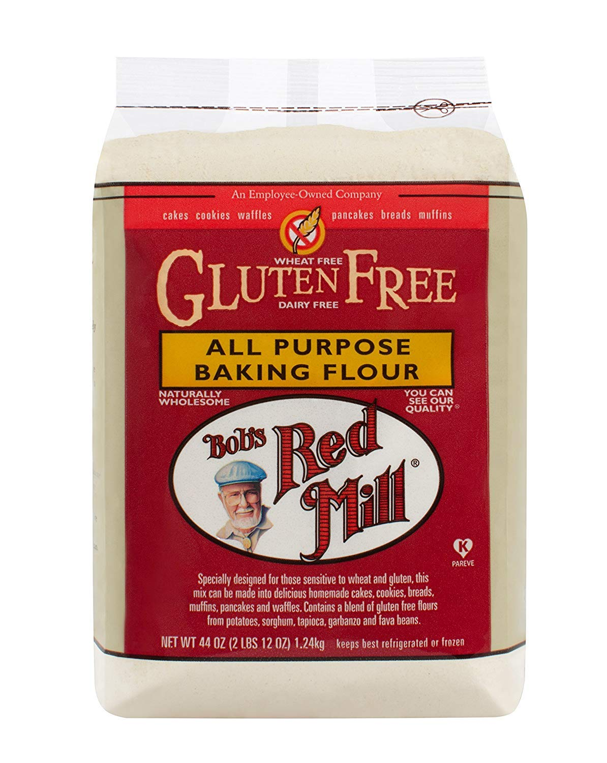Bob's Red Mill Gluten Free All Purpose Baking Flour, 44-ounce by Bob's Red Mill