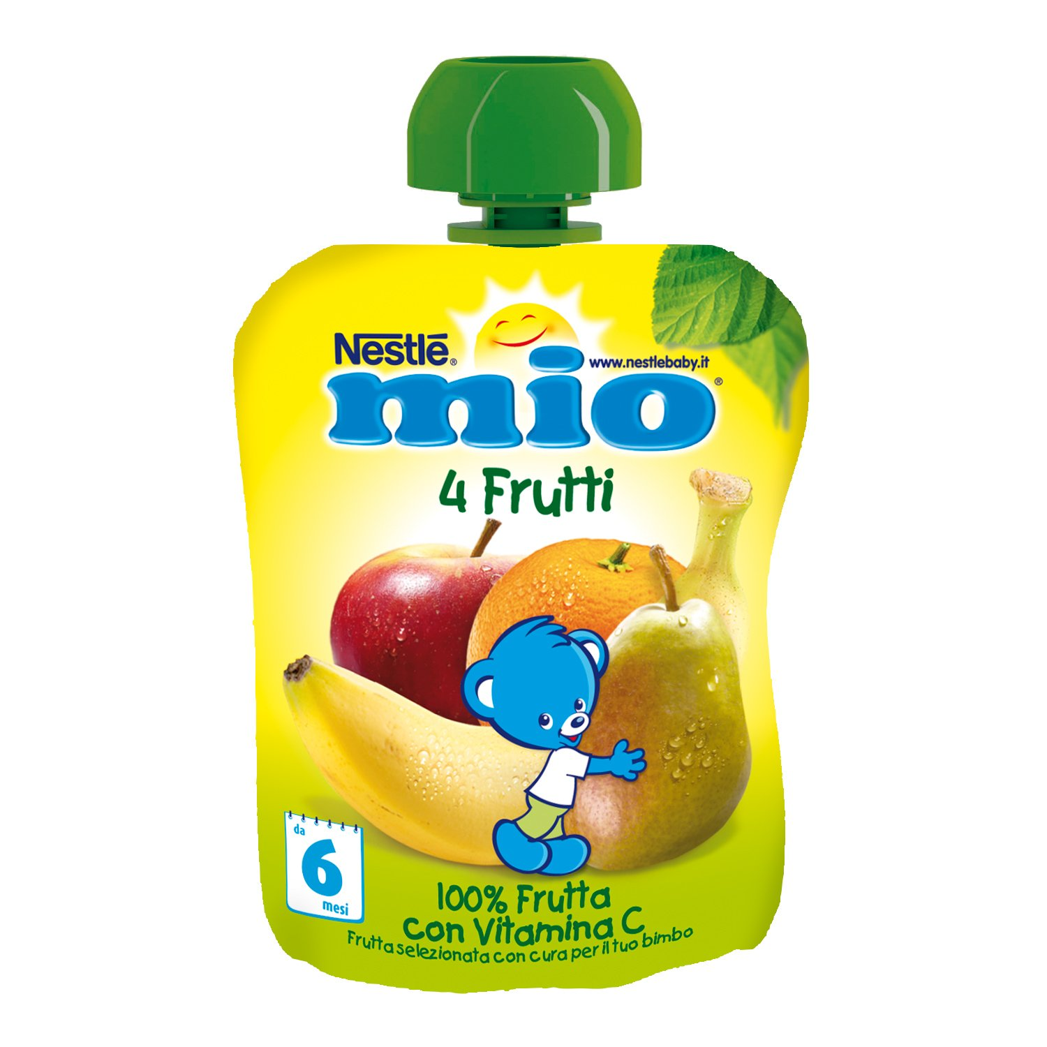 Amazon.com: Nestle My Fruit Grated From Squeeze 4 Fruits 90g: Health & Personal Care