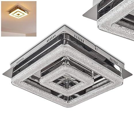 Lámpara de techo LED Blingbling metal en cromo - Lámpara ...