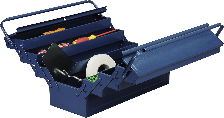 bleu Allit Caisse /à outils en m/étal 490613 1/pi/èce