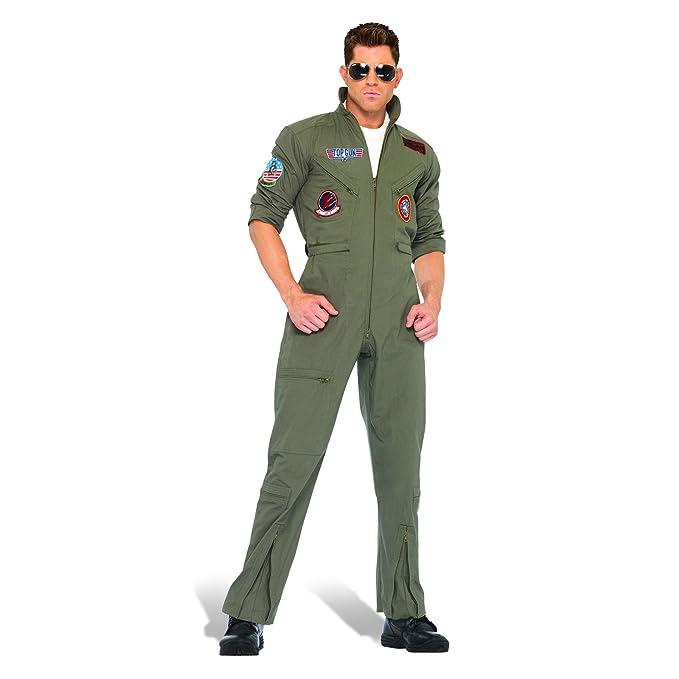 Tomcat En general los hombres traje de aviador traje con los hombres mono  de color caqui traje de vuelo - 58 60  Amazon.es  Ropa y accesorios e562c2e5a244