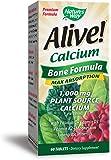 Nature's Way Alive!®  Calcium Bone Formula Supplement (1,000mg per serving), 60 Tablets
