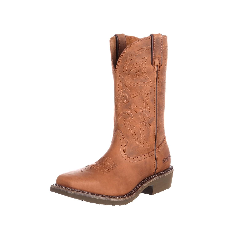 Durango Stiefel DDB0101 W Pull on braun Herren Westernstiefel Braun Herrenstiefel Work Stiefel Farm und Ranch Stiefel