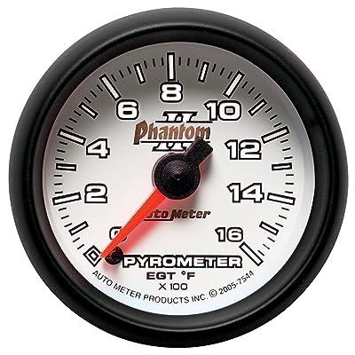 Auto Meter 7544 Phantom II Electric Pyrometer Gauge Kit: Automotive