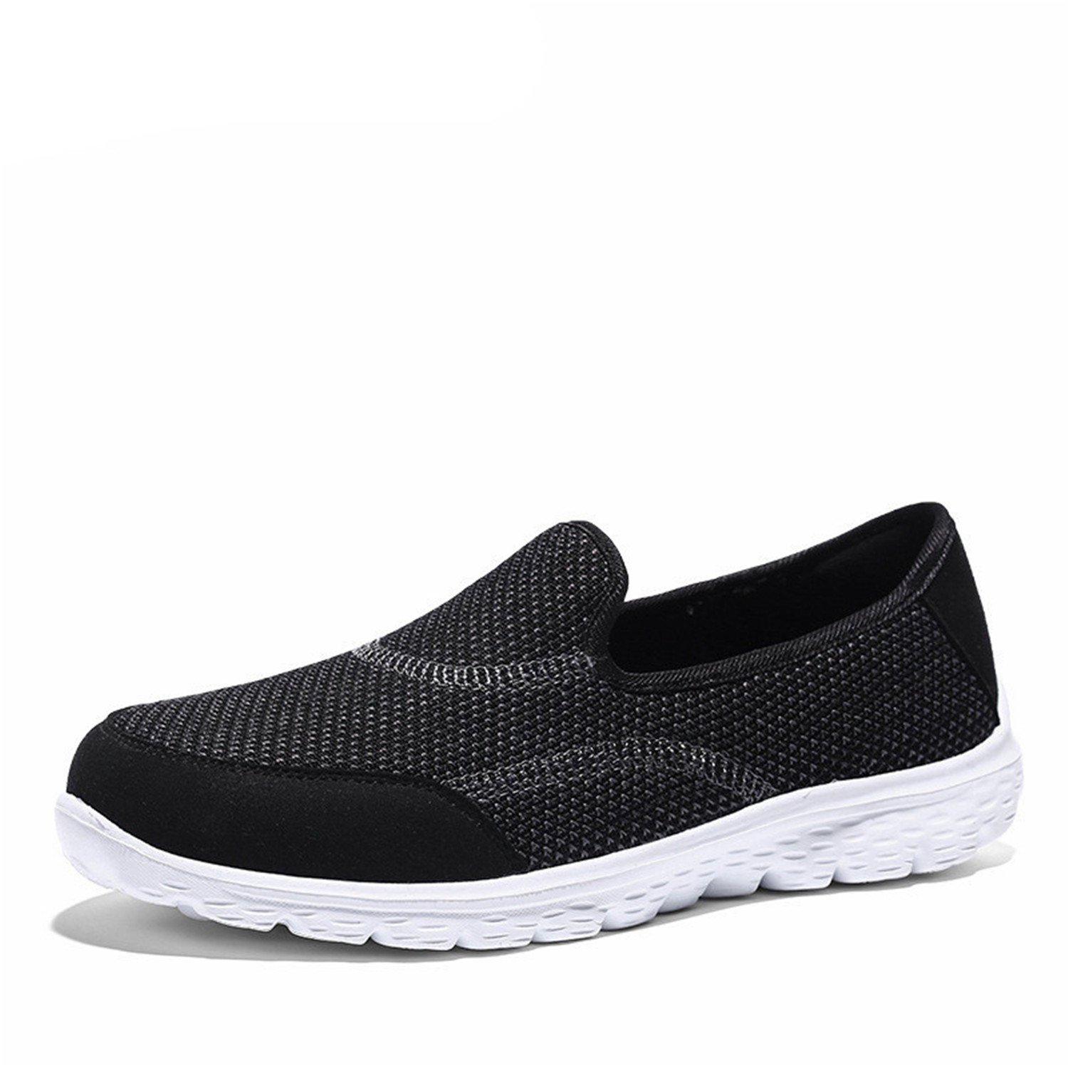 Mandaartins Womens Air Mesh Loafers Slip-On Shoe Light Comfortable Soft Driving Shoes