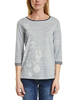 T Shirt Longues Cecil Femme Manches H6UwUqPp