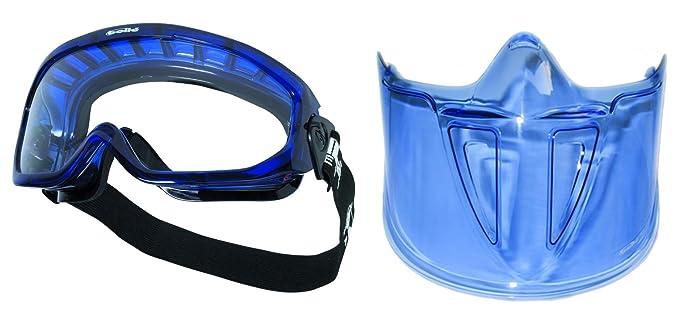 Bollé Blast gafas de seguridad/gafas + máscara