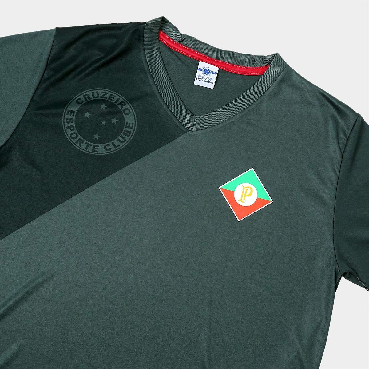 4ac70f6e390e8 Camisa Retrô Cruzeiro Palestra Itália Masculina: Amazon.com.br: Esportes e  Aventura