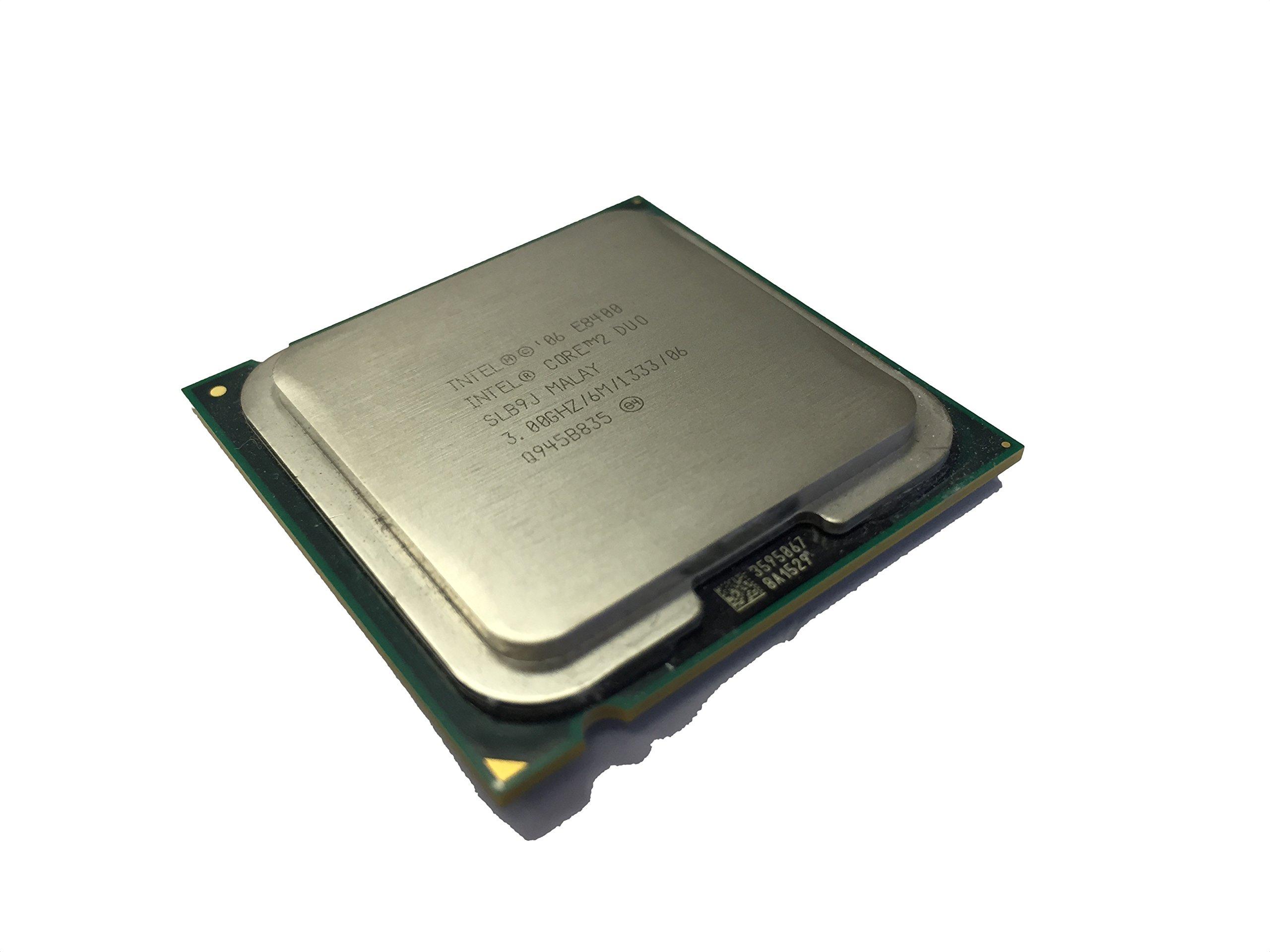 Intel Core 2 Duo E8400 3.0GHz 6MB CPU Processor LGA775 SLAPL SLB9J by Dell (Image #1)