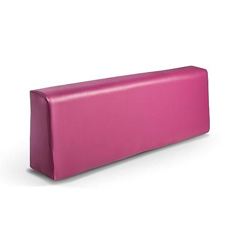 Respaldo colchoneta para sofas de palet color Fucsia (1 x Unidad) Cojin relleno con espuma | Cojines para chill out, interior y exterior, jardin | No ...