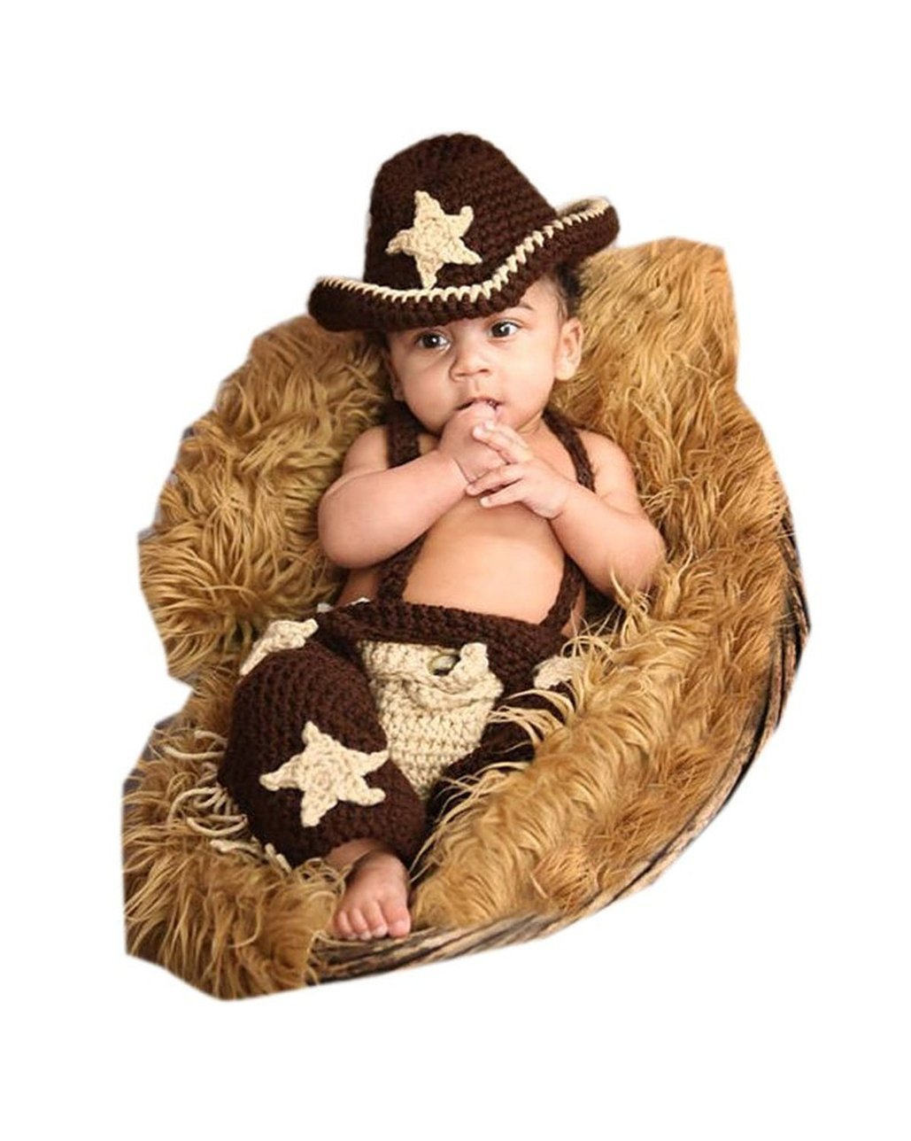 6a144c7a6 Online Cheap wholesale Shinystar Baby Handmade Crochet Knit Cowboy Style  Clothes Photography Prop Costume Set (Style 5) Baby Boys Suppliers