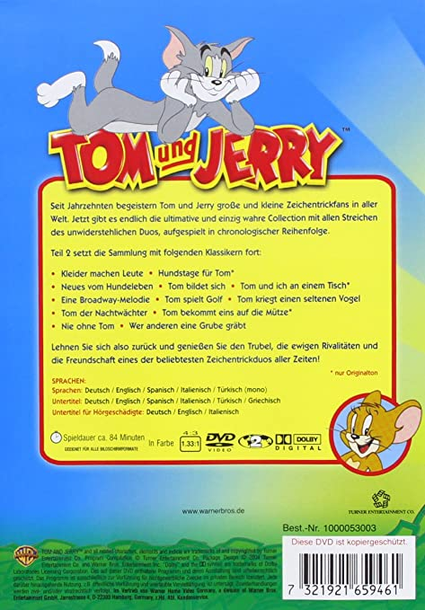 Amazon Com Tom Jerry The Ultimate Classic Collection 12 Dvd