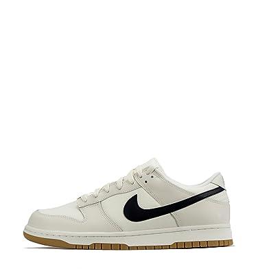 dd0d2339a6 Nike Dunk Low Leinen Herren Turnschuhe aa1056 Turnschuhe - Weiß Schwarz  Weiß 100, 45