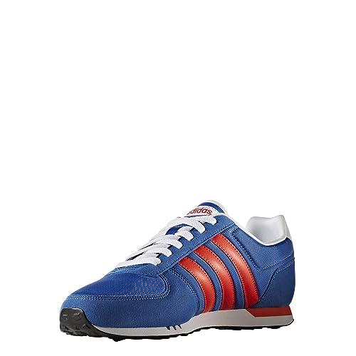 adidas Neo City Racer, Scarpe da Ginnastica Uomo, Blu (Azul/Energi/