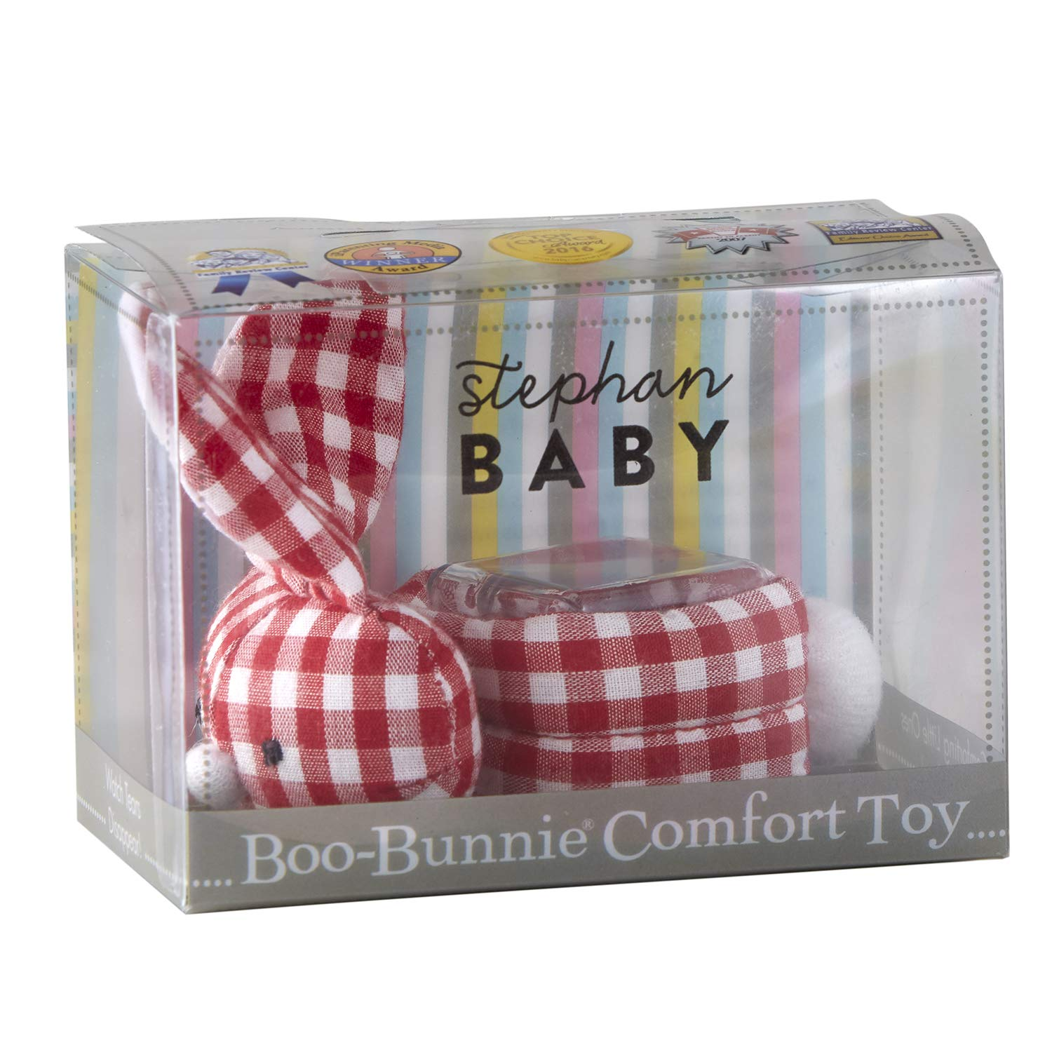 Amazon.com: Stephan Baby Boo-Bunnie Comfort Toy & Boo Cube ...