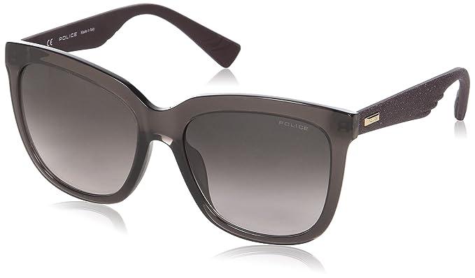 Police Sparkle 1, Gafas de Sol para Mujer, Marrón (Shiny Brown), 48: Amazon.es: Ropa y accesorios