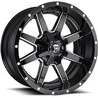"""Fuel D610 Maverick 20x9 8x165.1/8x6.5"""" +1mm Gloss Black/Milled Wheel Rim"""
