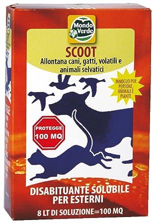 Mondo Verde REP01 Repelente Perros y Gatos Polvos de 150 g Rojo 10x3x16 cm: Amazon.es: Jardín