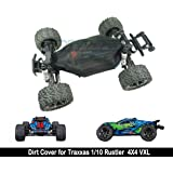 Raidenracing Nylon Mesh Chassis Dirt Dust Resist Guard Cover for Traxxas 1/10 Rustler 4X4 VXL 4WD Brush & Brushless