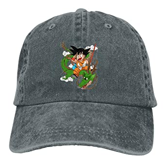 Amazon.com: Baseball Cap Gorras para Hombres Dad Cap Polo Hat Gorras De Mujer Dragon Ball Goku T-Shirt Casquette Black: Clothing