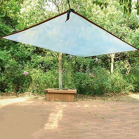 Lona Plástico Transparente para Patio Transparente con Ojales, Ventana/Vivero/Invernadero/Película De Jardín, 100 G/M² (Size : 3mx8m): Amazon.es: Hogar