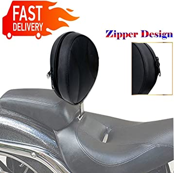 USED Adjustable Driver Backrest for 2007-up Harley Softail Heritage Models