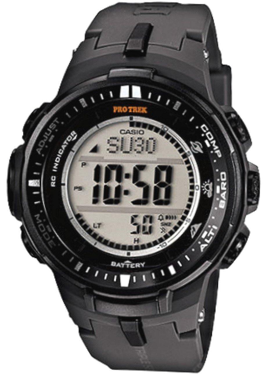 Reloj Casio Pro Trek PRW-3000 al cuarzo (batería) acero ...