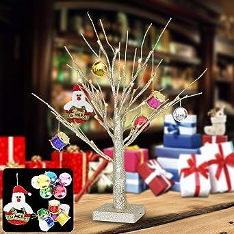 bd927937c94 Yimai árbol de Navidad con luz LED
