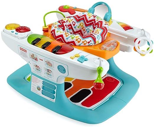 Fisher-Price - Superpiano pasitos musicales 4 en 1, juguete ...