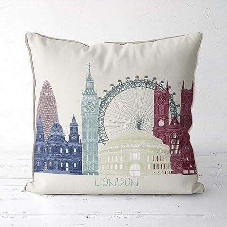 Jocper London Almohada de Inglaterra Regalo de Londres ...