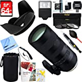Tamron (AFA025C-700) SP 70-200mm F/2.8 Di VC USD G2 Full-Frame Lens + 64GB Ultimate Filter & Flash Photography Bundle