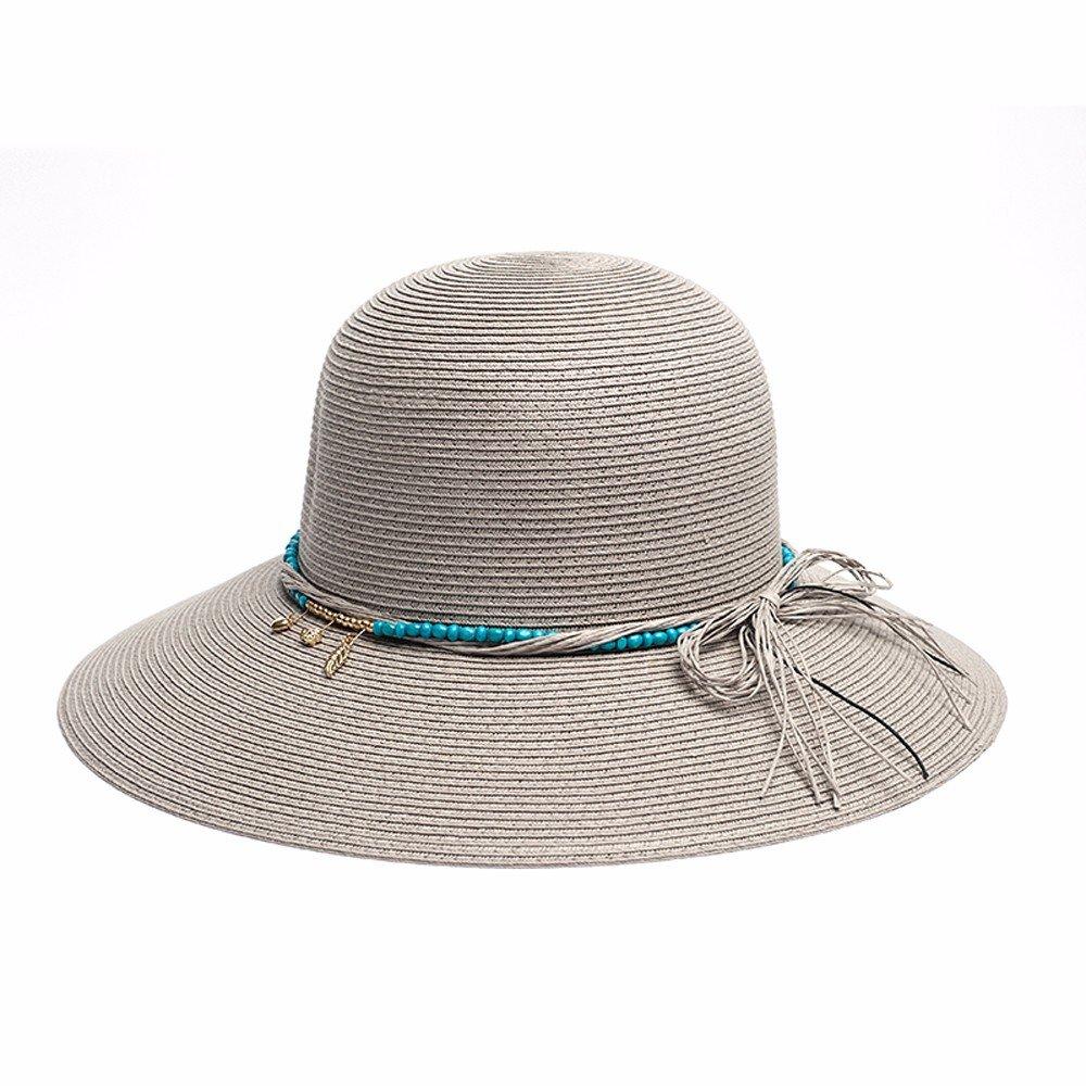 2017 sombreros de las se?oras de moda sombreros de verano de las mujeres sombreros de playa chica so...