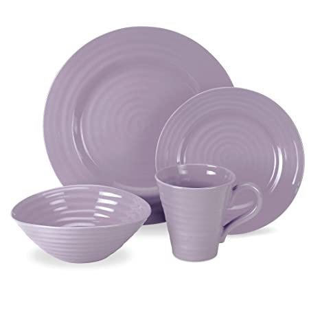Portmeirion Sophie Conran Mulberry 4-Piece Place Setting  sc 1 st  Amazon.com & Amazon.com: Portmeirion Sophie Conran Mulberry 4-Piece Place Setting ...