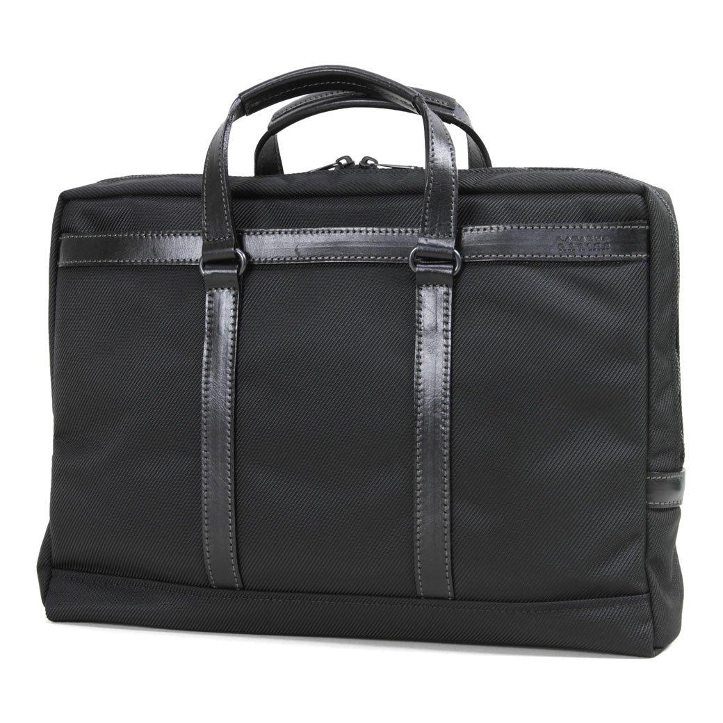 ビジネスバッグ ブリーフケース Lagasha(ラガシャ) メンズ B018TGVKXM No.7136 01 ブラック(Black)